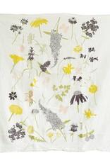 Fire Butterfly Garden Towel