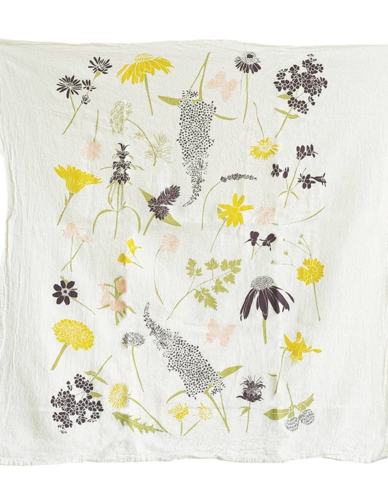 Butterfly Garden Towel
