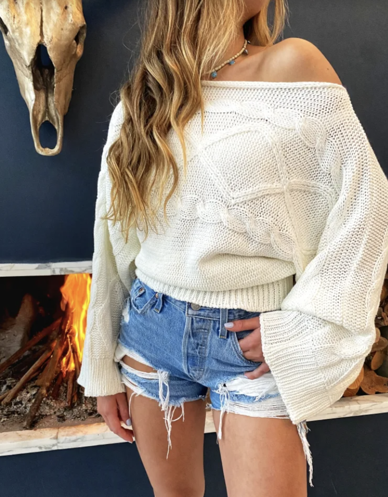 Colombian Cotton Sweater