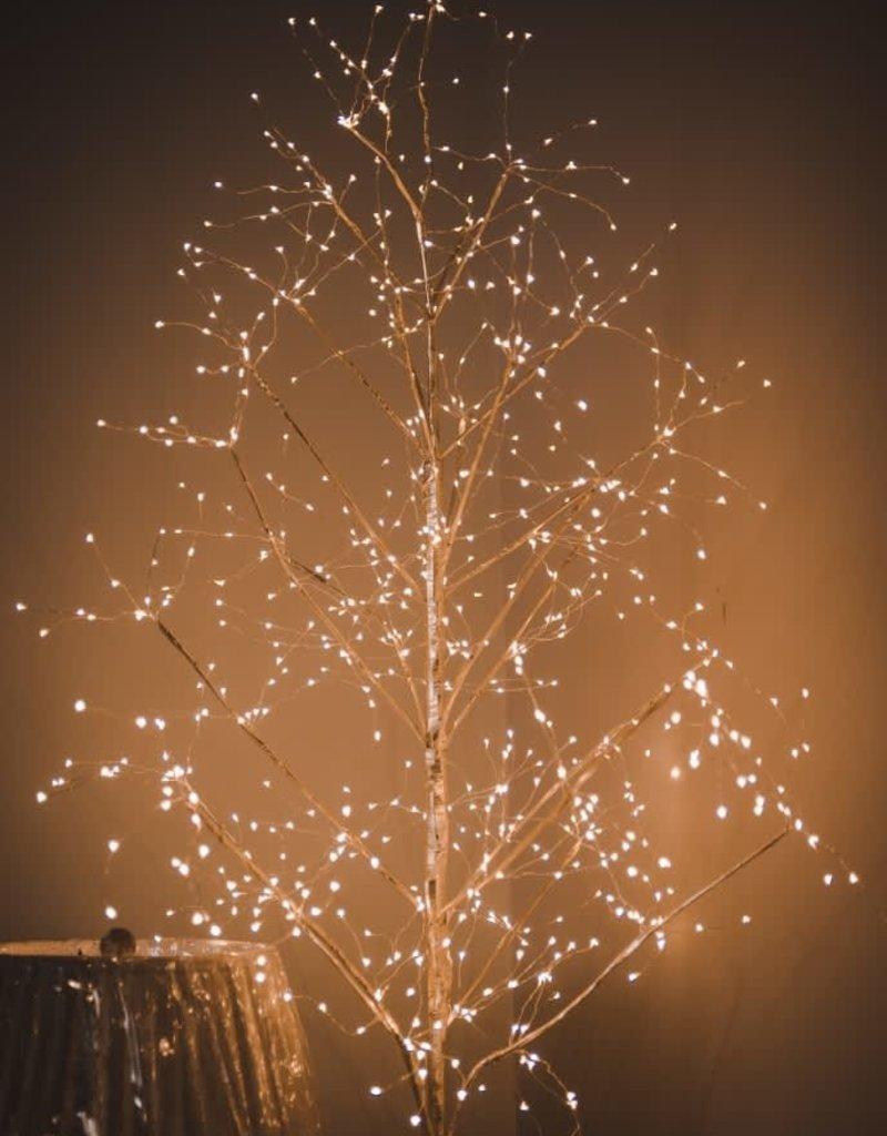 Gold Fairy Light Tree, Warm White LED - 3' Gold Fairy  Light Tree, Warm White LED