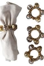 Jingle Bell Napkin Rings-Set of 4
