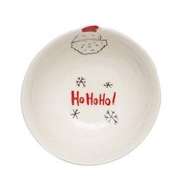 """Santa """"Ho Ho Ho"""" Stoneware Dish"""