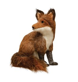 Faux Sitting Fox