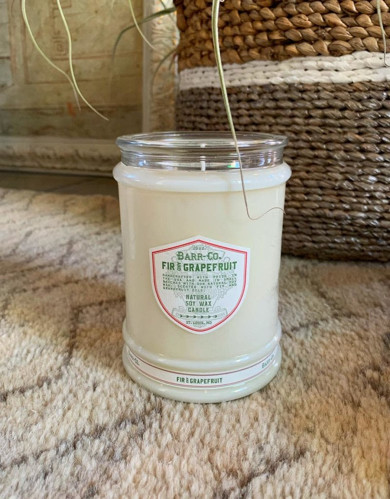 Tumbler Glass Candle - Fir/Grapefruit