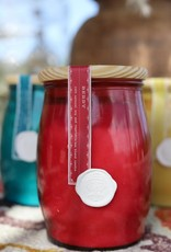 Tumble Jar Candle - Berry