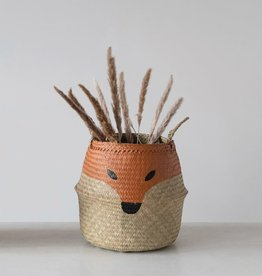 Fox Belly seagrass basket