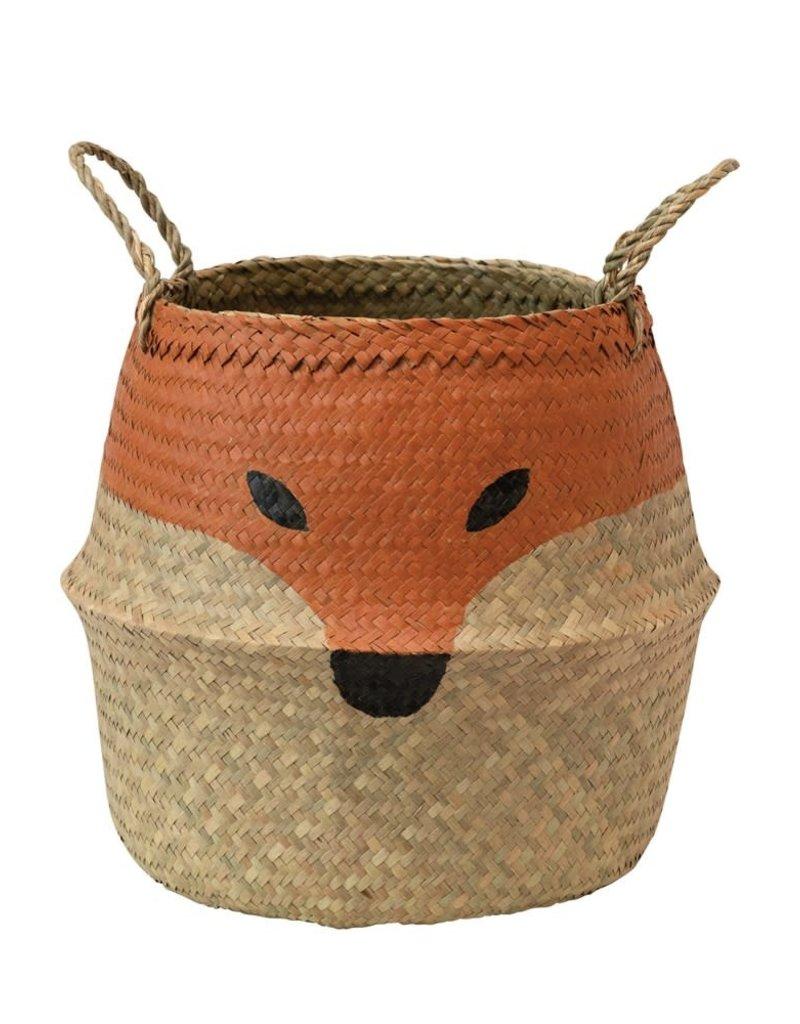 Fox Belly seagrass basket