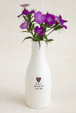 Heart Happy Bud Vase