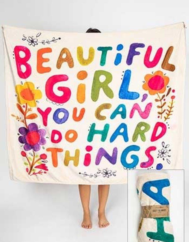 Natural Life Beautiful Girls Tapestry Blanket
