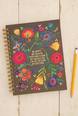 Natural Life Spiral Notebook Good In Everything