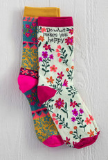 Natural Life Happy Boho Sock Set