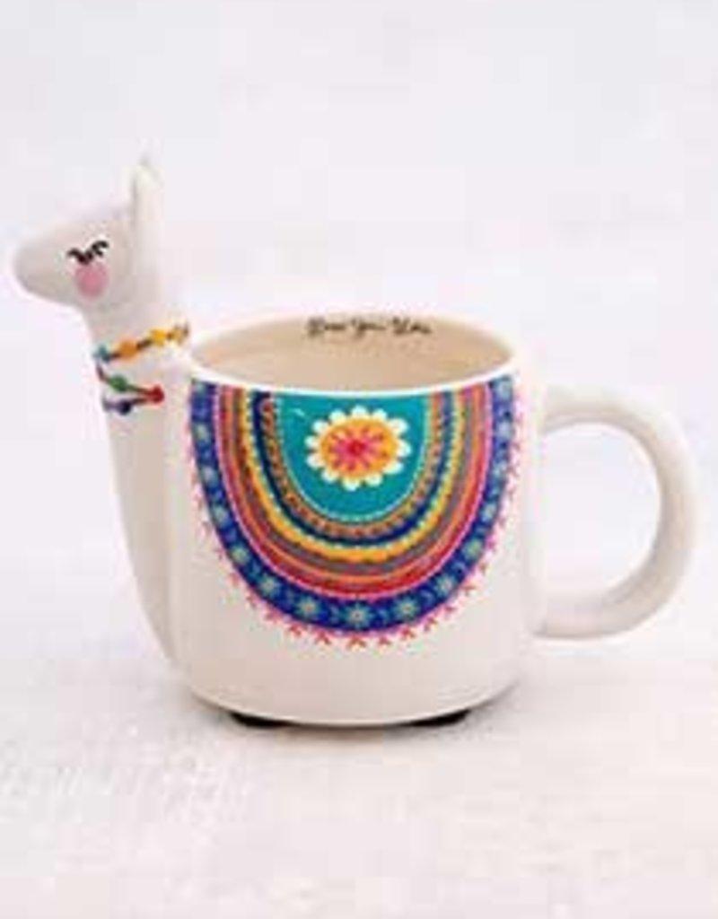 Natural Life Lesli The Llama Mug