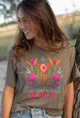 Natural Life Count Bless Boyfriend Tee M