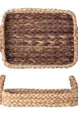 Hand Woven Seagrass Tray w/ Handles
