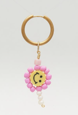 DLOB First Love Happy Face Pink Beads