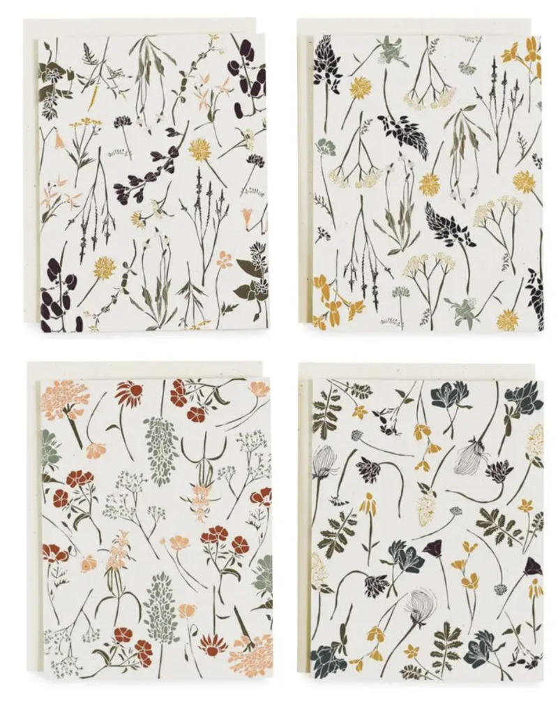 Wild Flowers By Region Cards