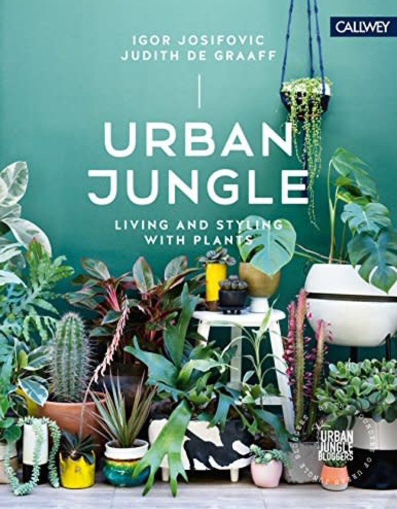 National Book Network Urban Jungle Living & Styling With Plants Book