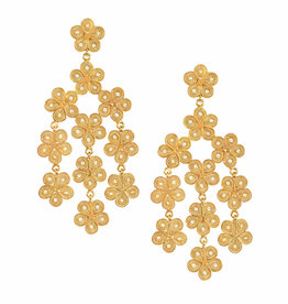 Lluvia de Flores Earrings