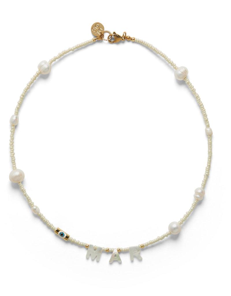 DLOB MAR Pearls Necklace