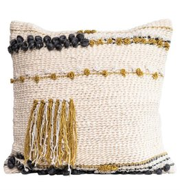 Square Wool Blend Pillow