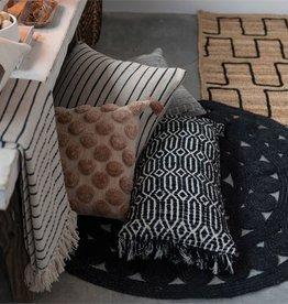 Cotton Tufted Dot Pillow Blush Color