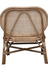 Hand Woven Rattan Chair Natural