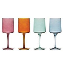 Stemmed Wine Glass-Set of four
