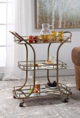 Uttermost Stassi Serving Cart