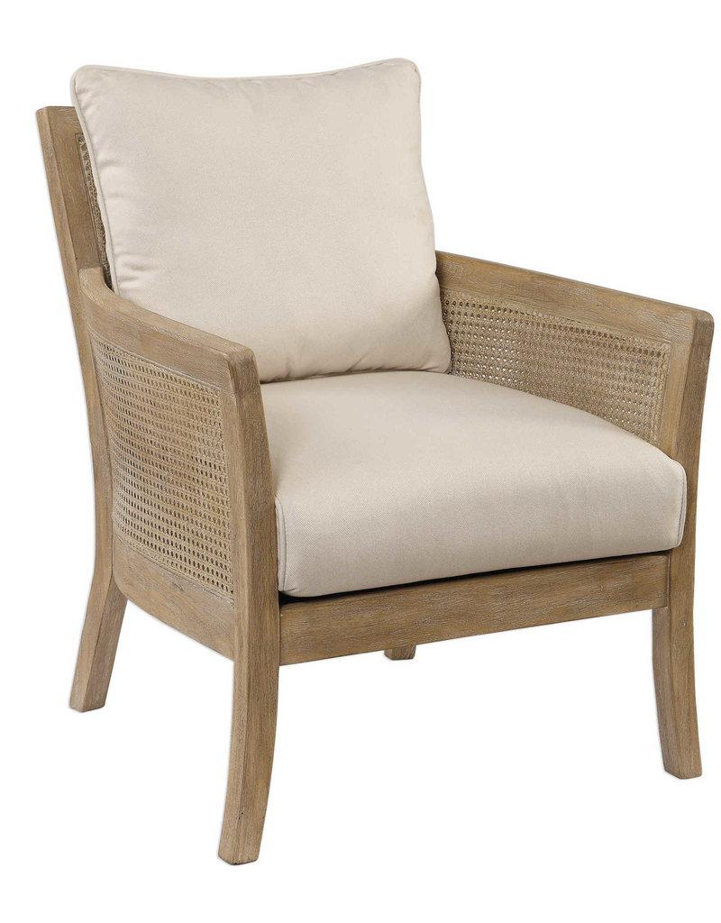 Uttermost Encore Armchair Natural