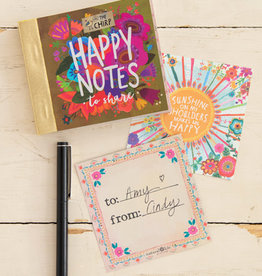 Happy Notes Mustard Floral