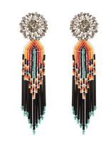 Indias Black Earrings