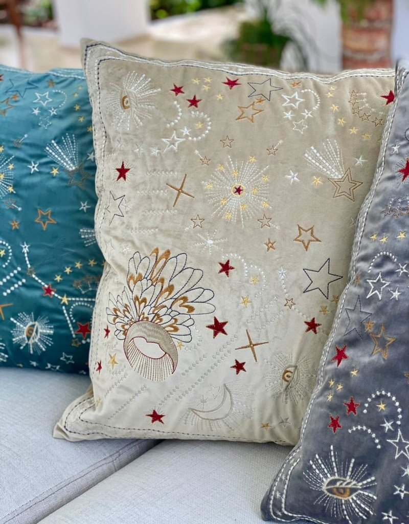 Handmade Colombian Pillows Cream