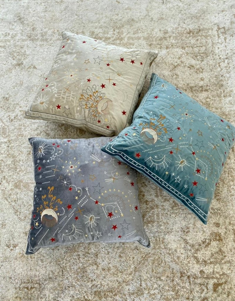 Handmade Colombian Pillows Brown
