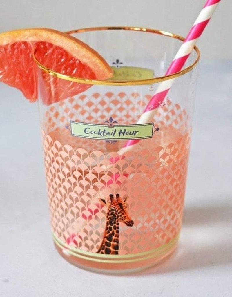 Yvonne Ellen Giraffe Hi ball Glass 55 CL