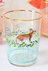 Yvonne Ellen Cheetah Hi ball Glass 55 CL