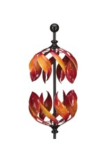 Vertical Wind Spinner - Double Flame
