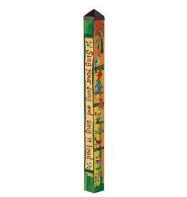 Feed the Birds 4' Art Pole