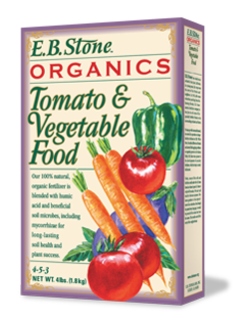 E.B. Stone EB Stone Tomato & Vegetable 4-5-3 4LB