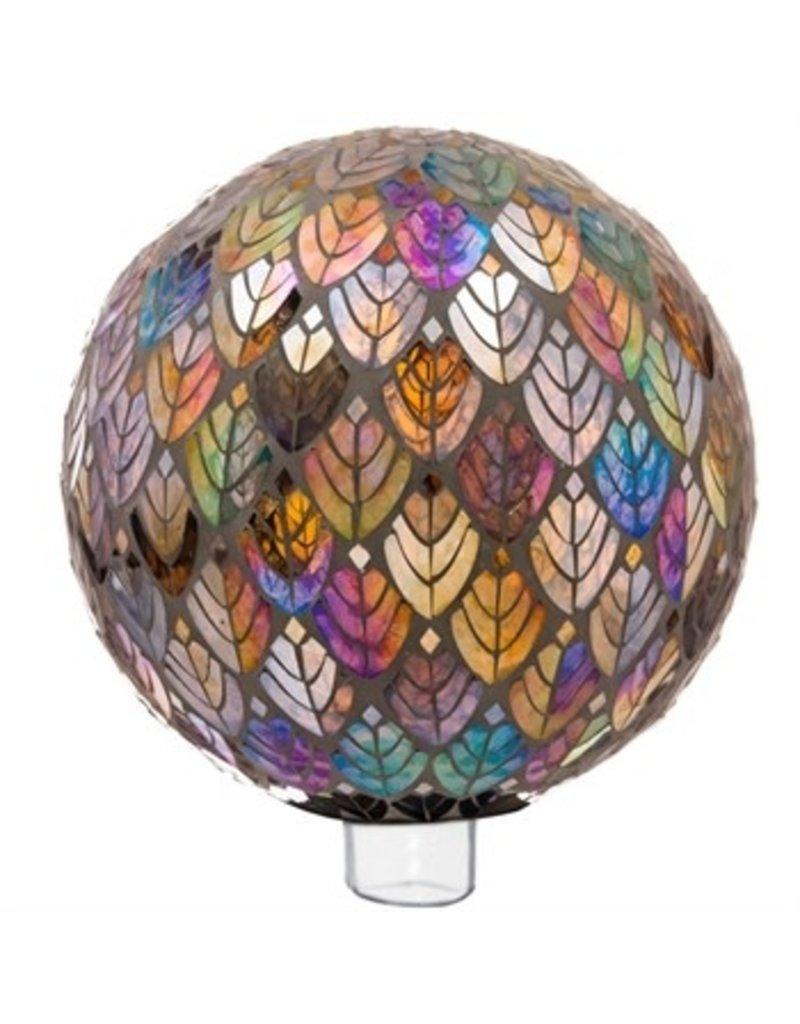 "10"" Baroque Splendor Mosaic Gazing Ball"
