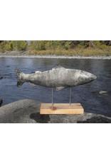 Greenman Coho Salmon on Cedar