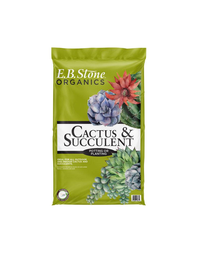 E.B. Stone Cactus & Succulent soil 8qt