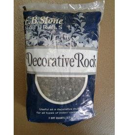 E.B. Stone Decorative black rock