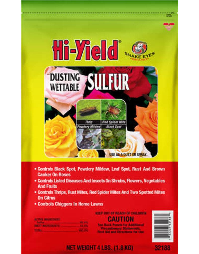 Hi-Yield Dusting Sulfur