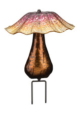 Solar Toadstool Stake - Orange