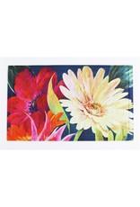 Floral Fanfare Embossed Floor Mat