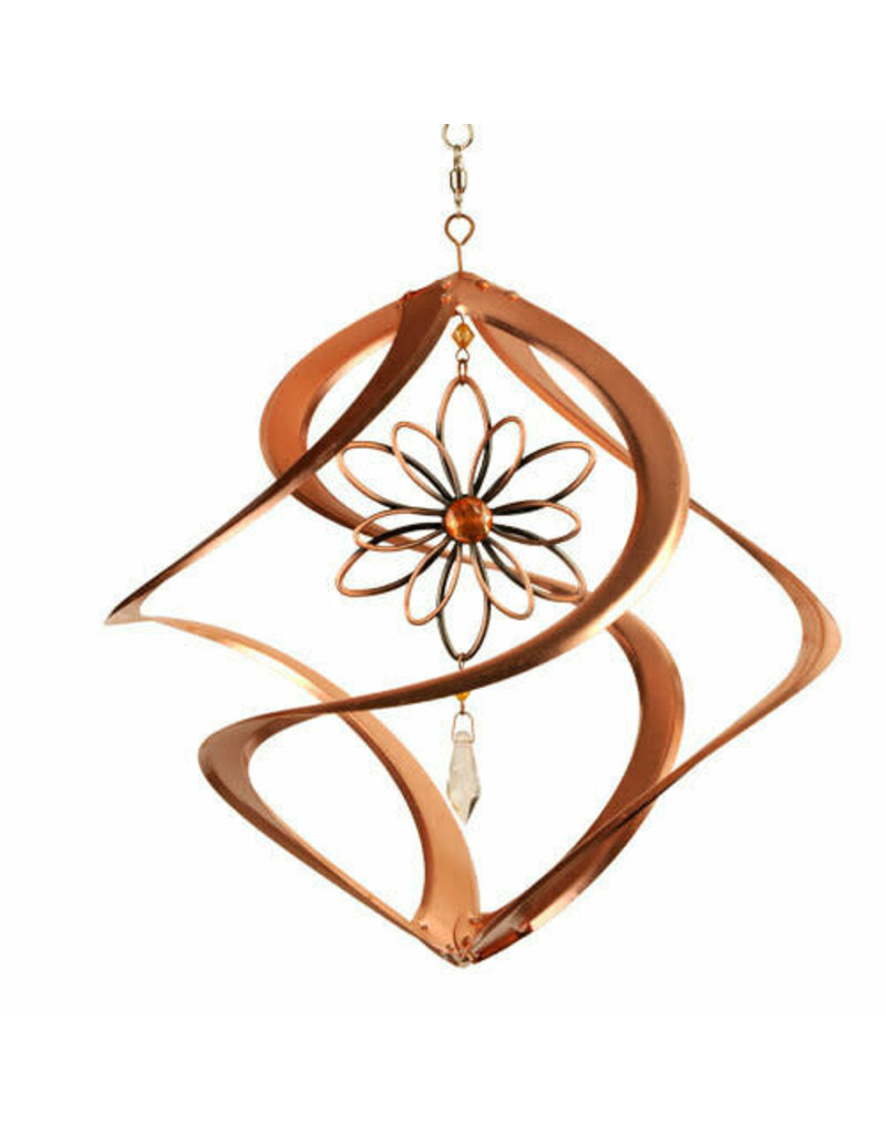 """Cosmix 14"""" Copper With Flower"""