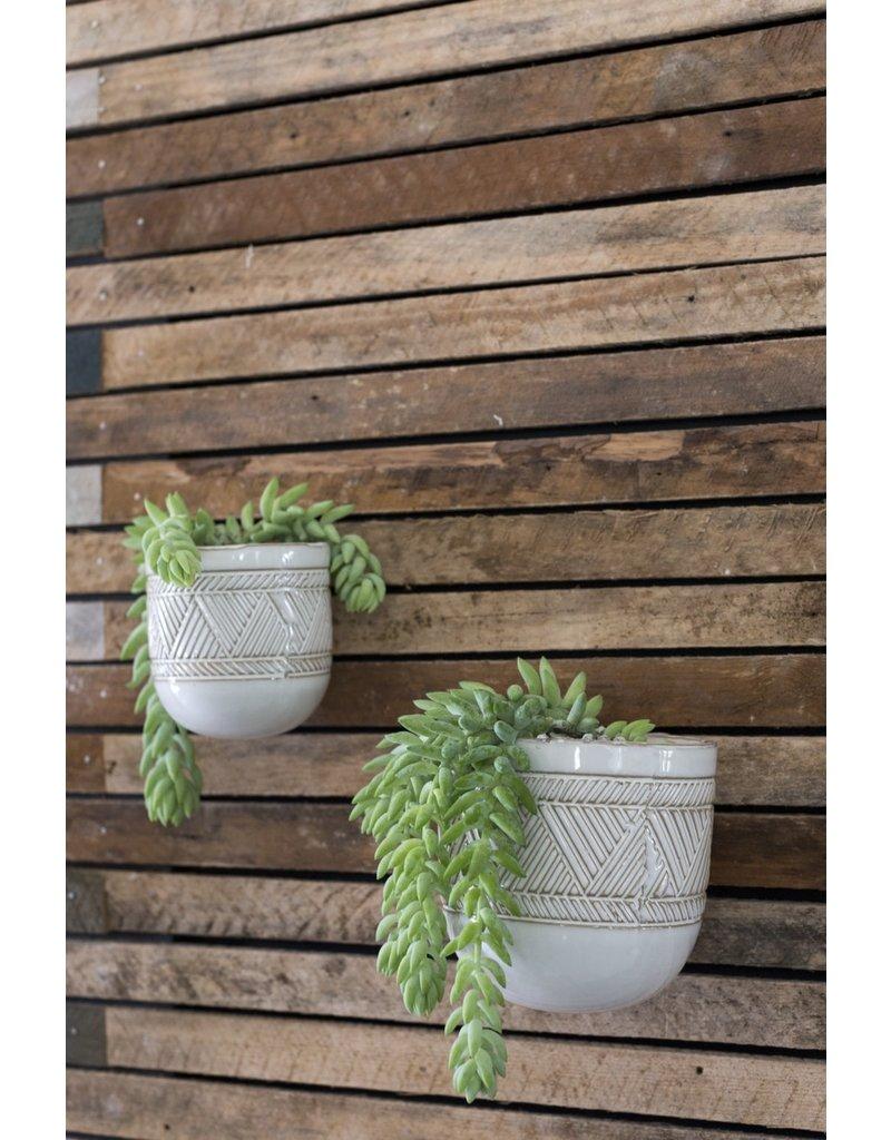 """Tribe Hanging Vase 4.75"""" x 5.5"""""""