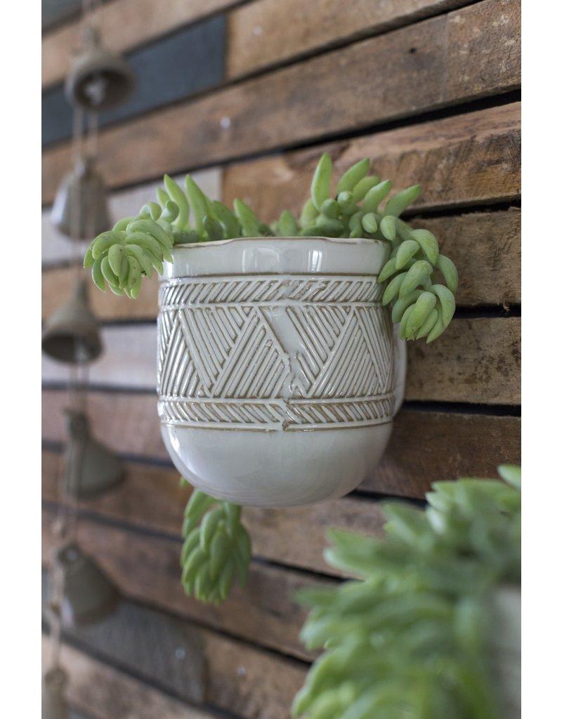 """Tribe Hanging Vase 3.75""""x 4.25"""""""