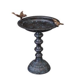 Cast Metal Birdbath
