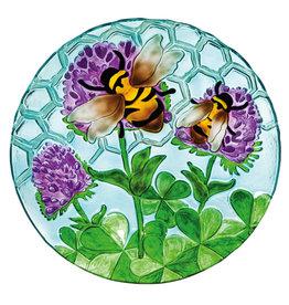 """18"""" Birdbath, Busy Bee Days"""